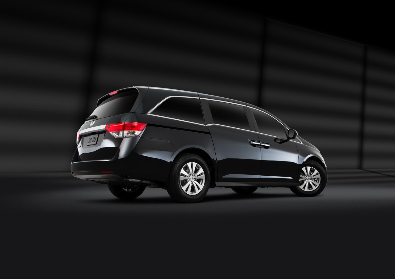 Exterior View Of 2016 Honda Odyssey near San Diego