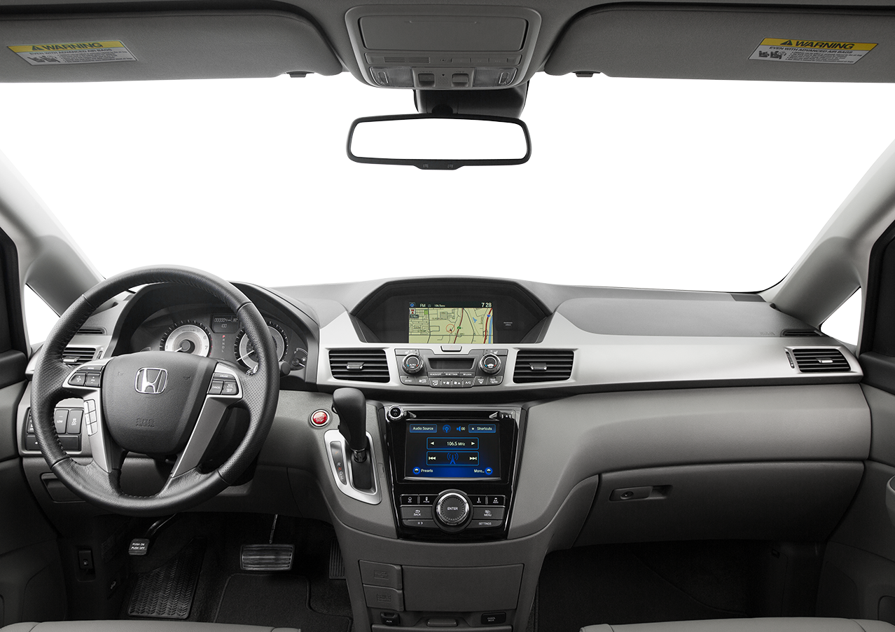Interior View Of 2016 Honda Odyssey near San Diego