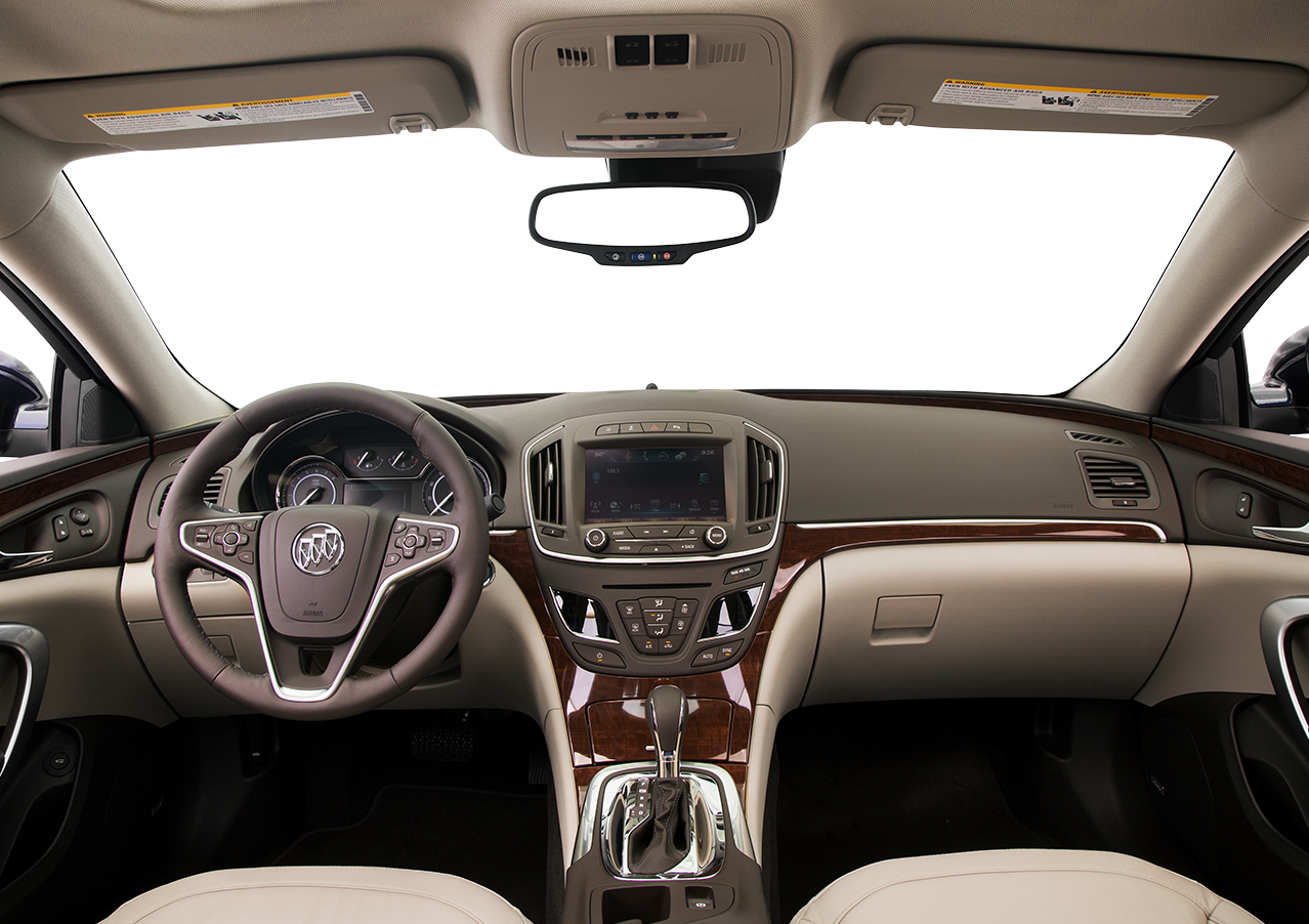 Interior View Of 2016 Buick Regal In Anaheim
