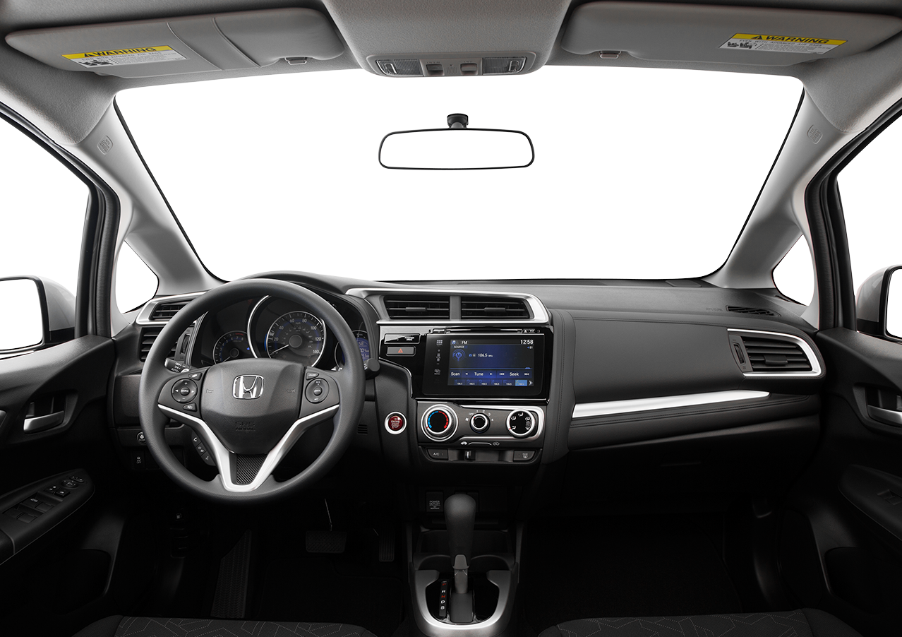 Interior View Of 2016 Honda Fit near San Diego
