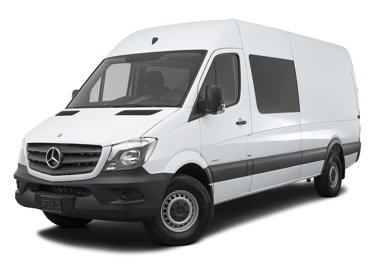 Test Drive A 2016 Mercedes-Benz Sprinter Crew Van at Mercedes-Benz of El Cajon in El Cajon