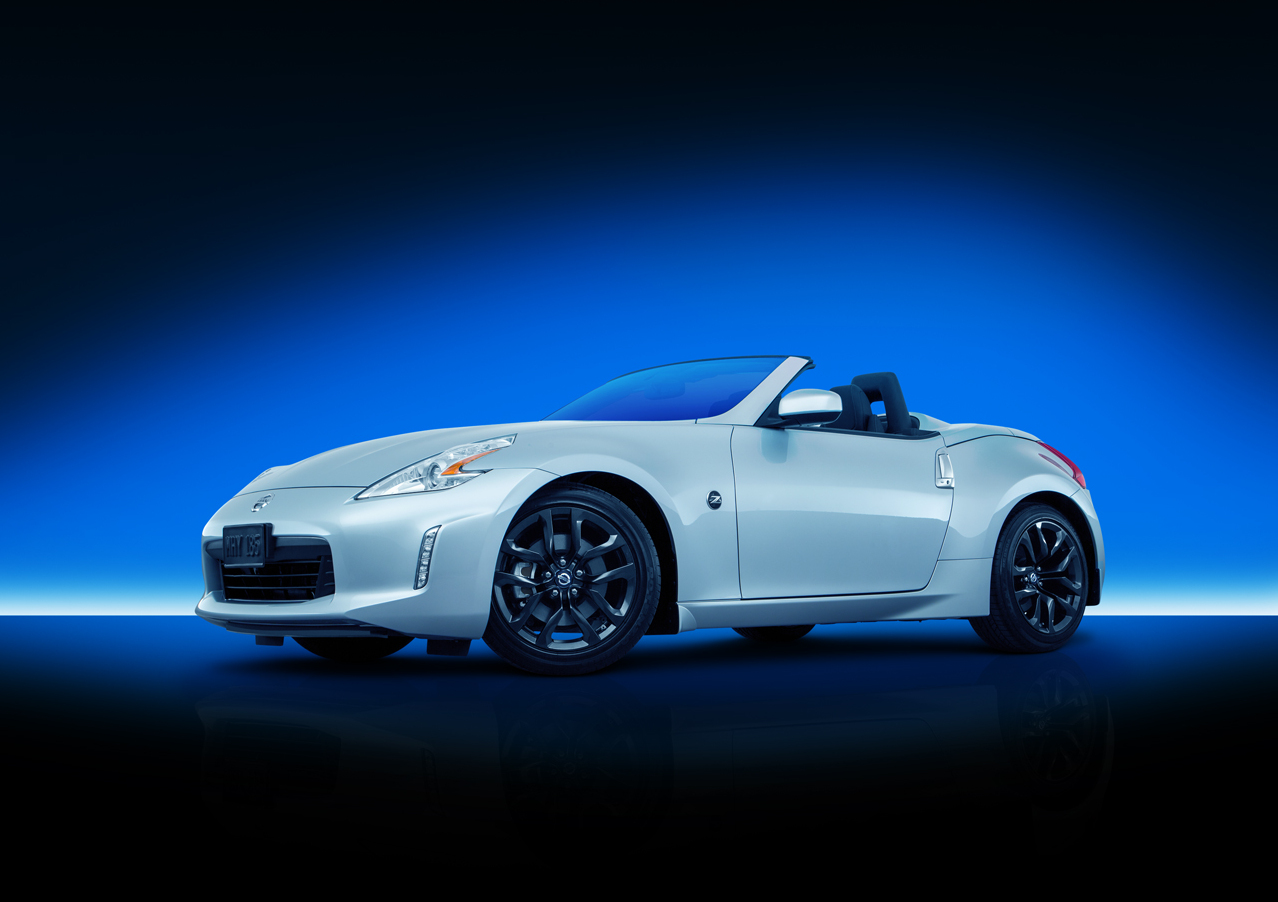 Exterior View Of 2017 Nissan 370Z Roadster Coachella Indio Valley
