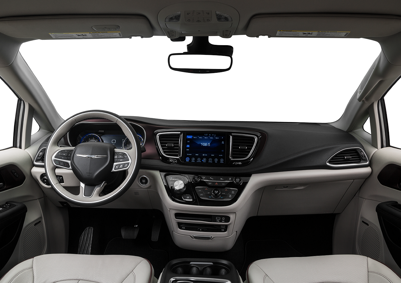 Interior View Of 2018 Chrysler Pacifica In Huntington Beach