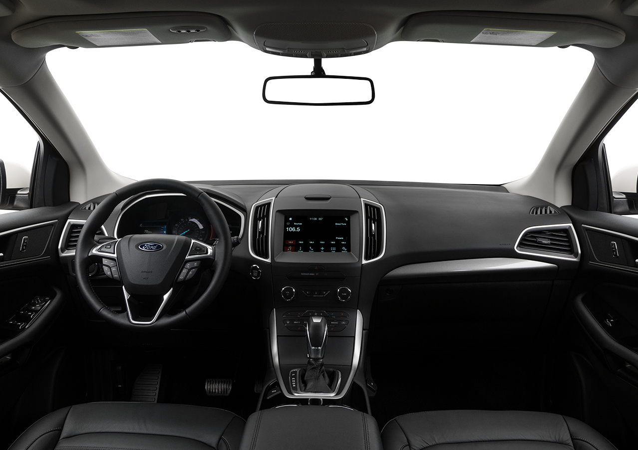 Interior Overview Personalize The Space Of 2017 Ford Edge