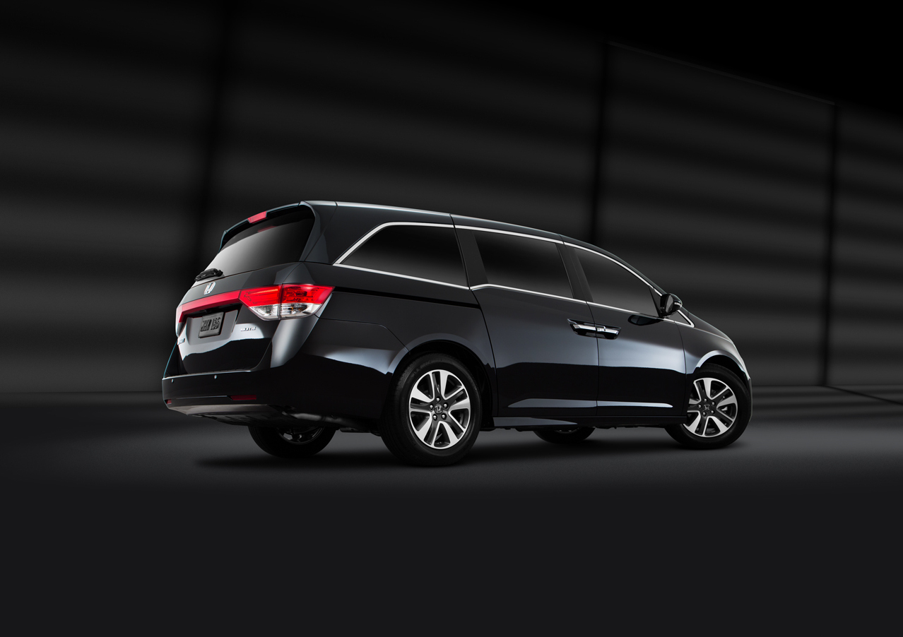 Exterior View Of 2017 Honda Odyssey near San Diego