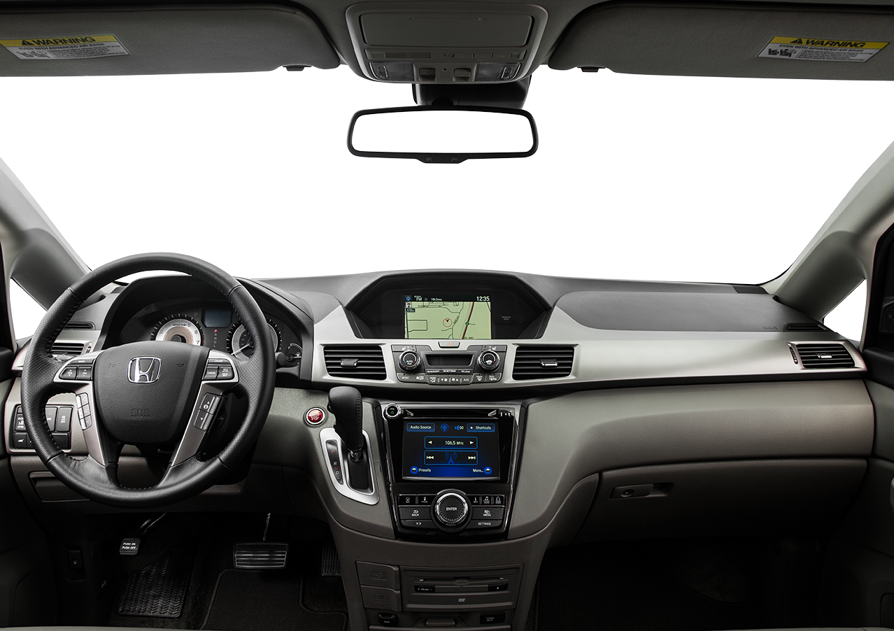 Interior View Of 2017 Honda Odyssey near San Diego