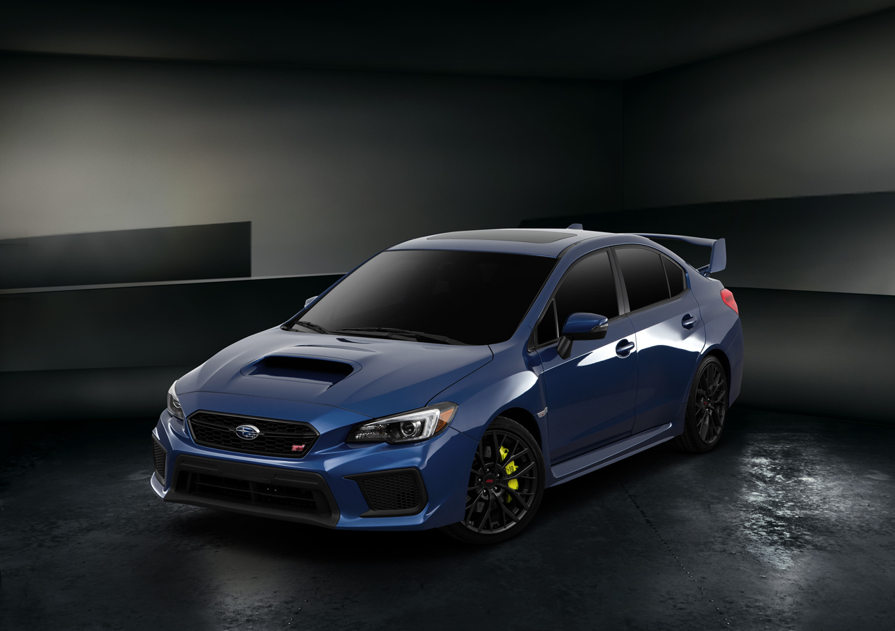 2018 subaru sti limited.  2018 exterior overview and 2018 subaru sti limited